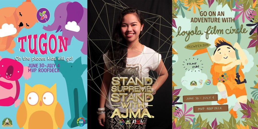 RECWEEK 2014. Throwback to when my life revolved around these three orgs on top of acads.